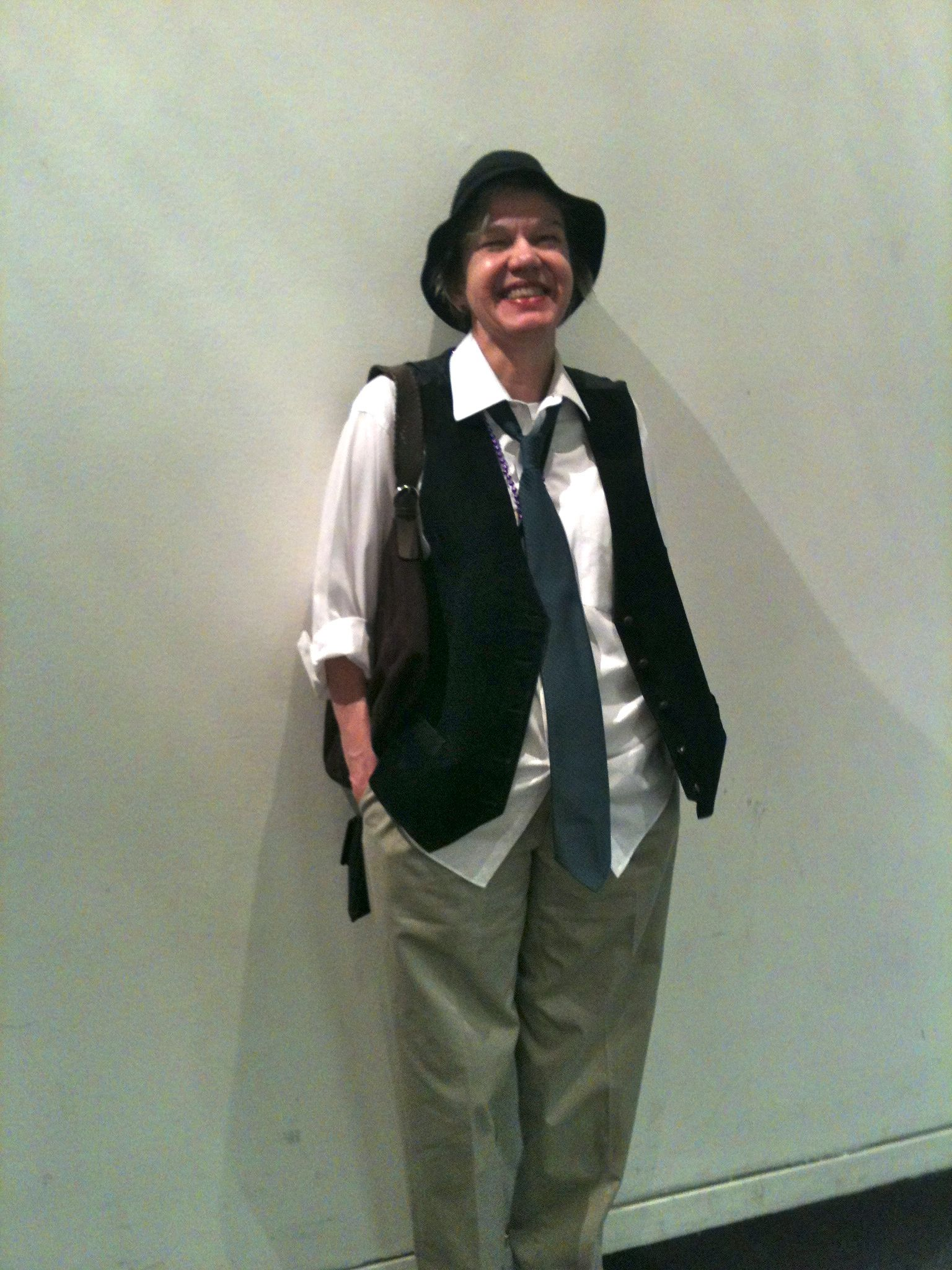 That's me as Annie Hall, thanks to Nicole.