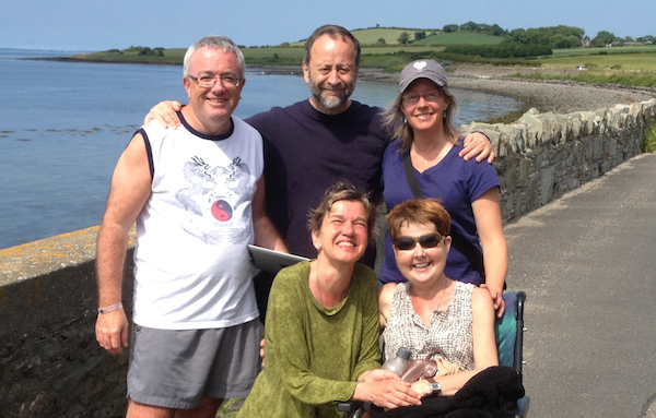 We were lucky to reassemble the crew this past July in Portaferry.