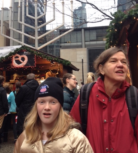 Here we are at Chicago's Christkindl Market after the polishing.