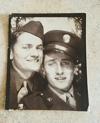 My uncle George Knezovich (left) and my pop, Mike Knezovich on the right. Thanks Aaron.