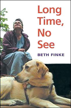 Book Cover: Long Time, No See by Beth Finke