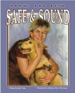 Hanni and Beth: Safe and Sound childrens book cover