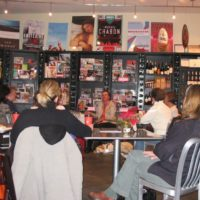 Picture of me at The Book Cellar for an event a few years back.