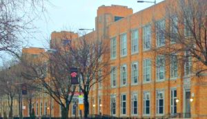 Photo of DuSable High School.